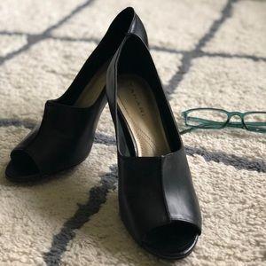 Tahari peep-toe heels